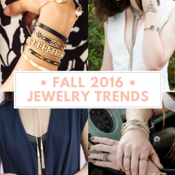 2016 Fall Jewelry Trends