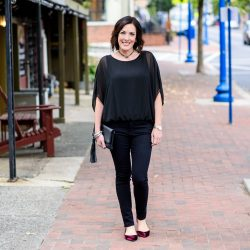 All Black Outfit for Fall
