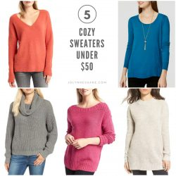 Sweater Weather: 5 Sweaters Under $50