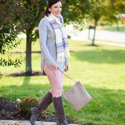 Pastels for Fall: Grey & Pink