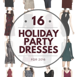 16 Holiday Party Dresses for 2016