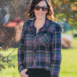 Mad About Plaid {Winter Plaid Shirt Outfit}
