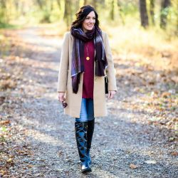 25 Days of Winter Fashion: Casual Camel Coat Outfit