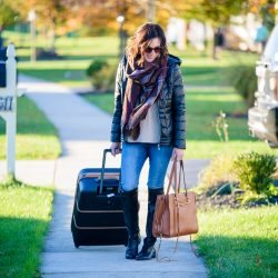 Holiday Travel Tips and a Winter Travel Outfit