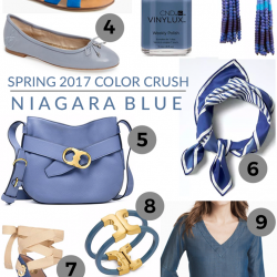 Spring 2017 Color Crush: Niagara Blue