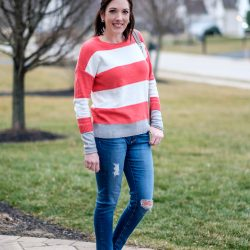 Wear Now & Later: Striped Sweater for $29