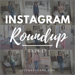 Coffee Talk + IG Roundup