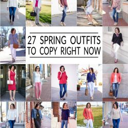 27 Spring Outfits for 2017 {RECAP}