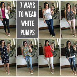 7 Ways to Wear White Pumps