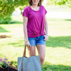 Easy Summer Shorts Outfit