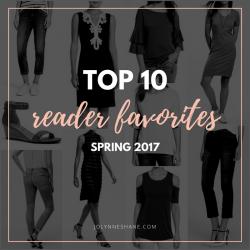 Top 10 Reader Favorites // Spring 2017