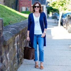 Slim Boyfriend Jeans for Fall