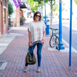 26 Days of Fall Fashion: Fringe Poncho Outfit
