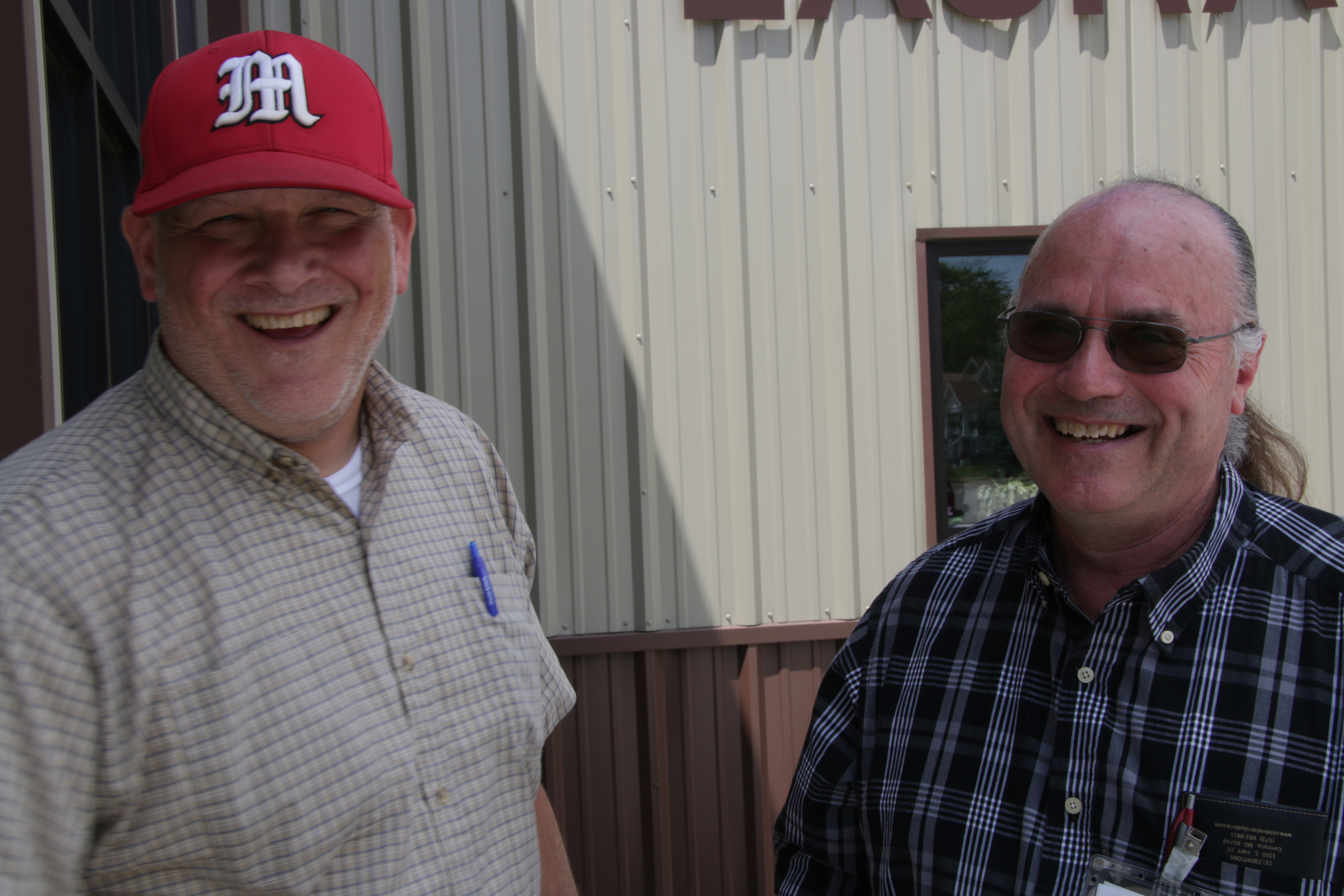 Tad Dobyns and Phil Iman on a New Program For Audrain County Seniors