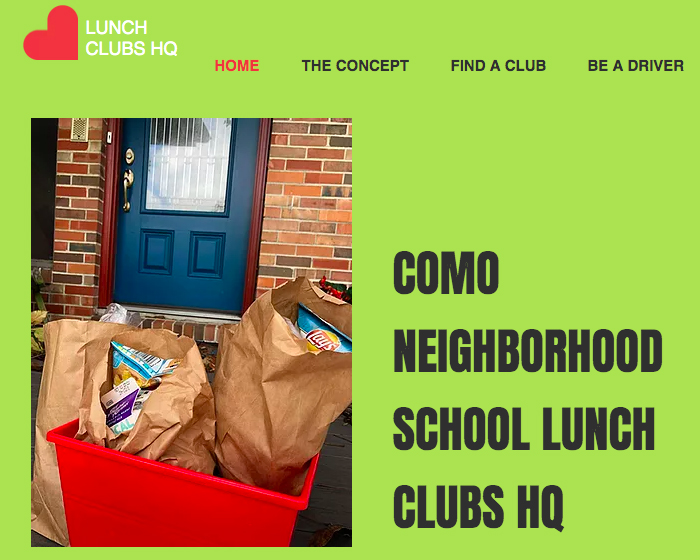 Columbia Neighborhood Lunch Clubs: 'How Do You Get Food Into as Many Homes as Possible?'