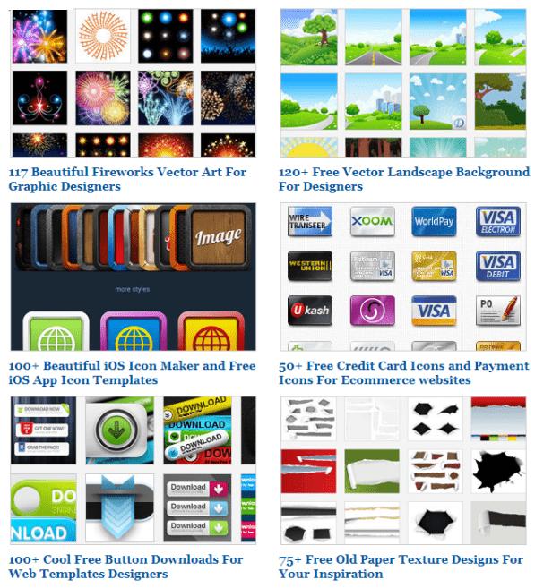 freevectors screenshot 2