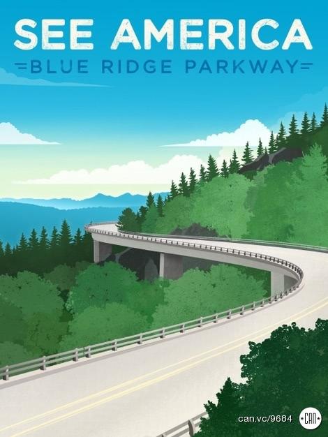 9684 Jon Cain - Blue Ridge Parkway