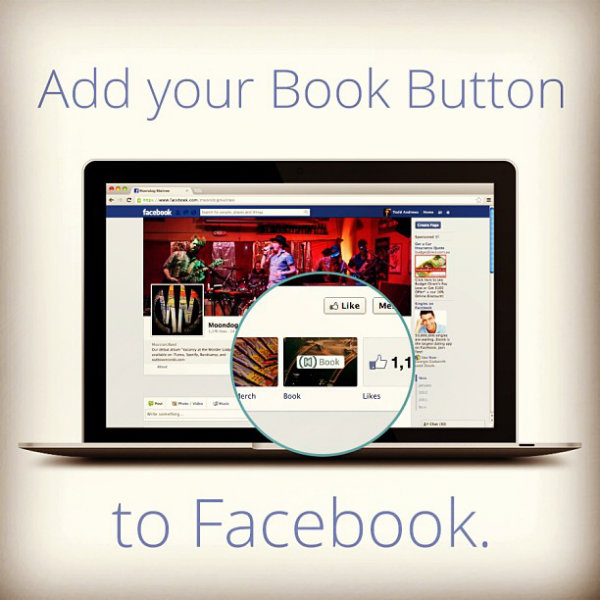 Facebook book button