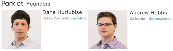 Dane Hurtubise and Andrew Hubbs