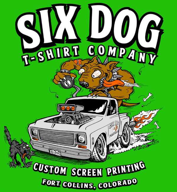 six dog creative sample