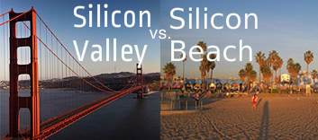 silicon valley vs silicon beach