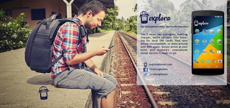 explora smartphone rental service