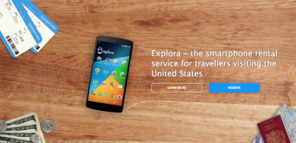 screenshot of exploraphones.com