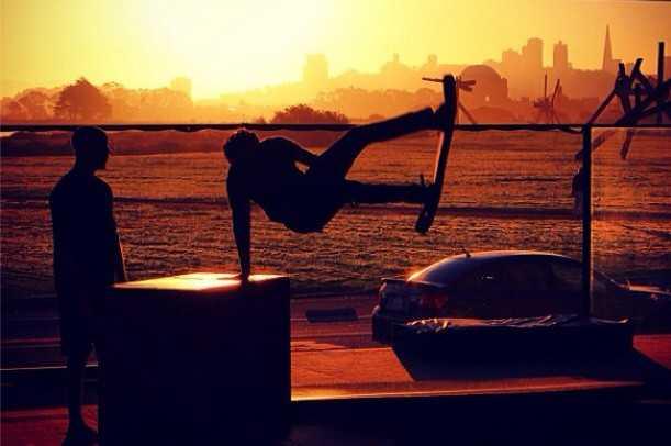 bounceboard sunrise