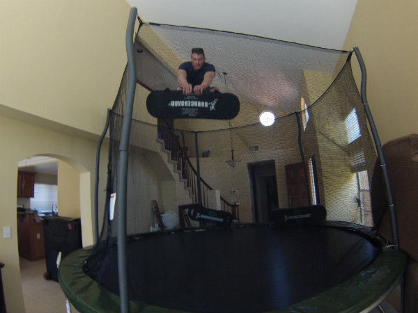 founder on his bounceboard