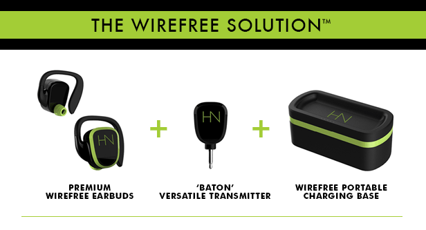 hearnotes wirefree earbuds