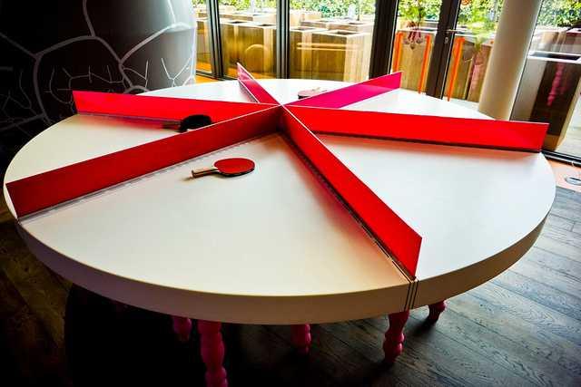 Google Ping Pong Table