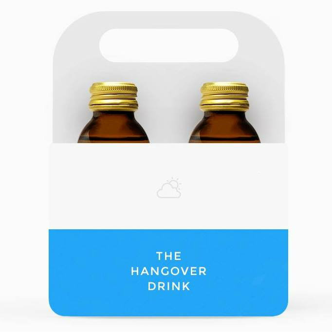 thehangoverdrink package