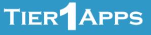 Tier1App logo