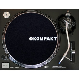 Product picture for Kompakt Slipmat Black