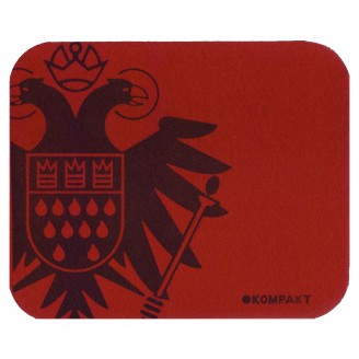Product picture for DarkRed Mousepad With Speicher/Kompakt Logo
