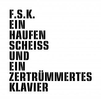 Album artwork for Ein Haufen Scheiss und ein zertrümmertes Klavier