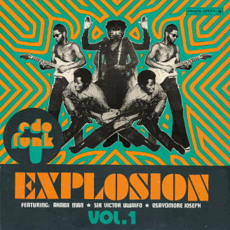 Album artwork for Edo Funk Explosion Vol.1