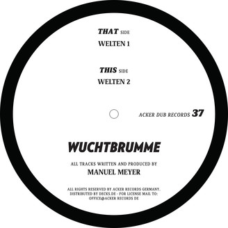Album artwork for Wuchtbrumme