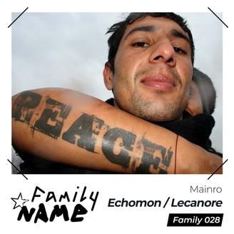 Album artwork for Echomon / Lecanor