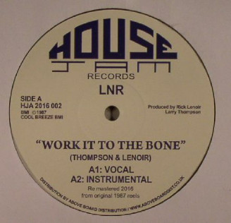 Album artwork for Work It To The Bone