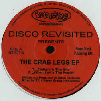 Album artwork for The Crab Legs EP
