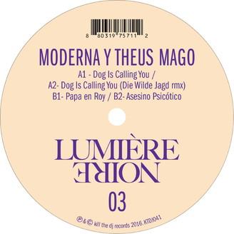 Album artwork for Lumière Noire 03