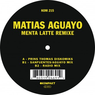 Album artwork for Menta Latte Remixe