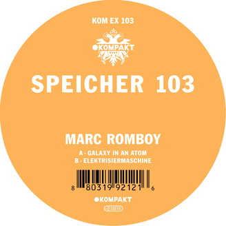 Album artwork for Speicher 103