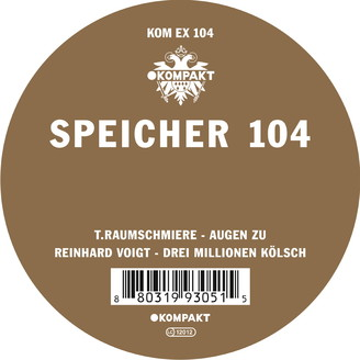 Album artwork for Speicher 104