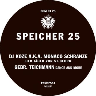 Album artwork for Speicher 25