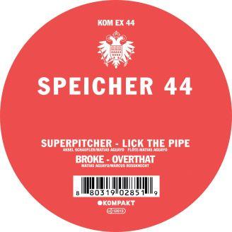 Album artwork for Speicher 44
