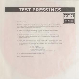 Testpressing#003