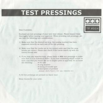 Testpressing#004