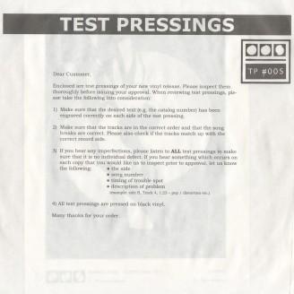 Testpressing#005